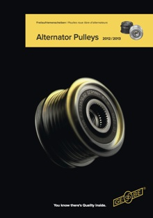 ika alternator pulleys