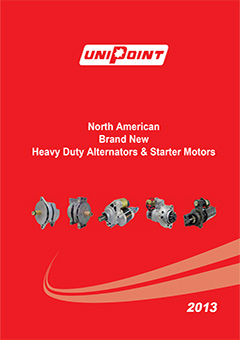 unipoint starters-alternators 2013